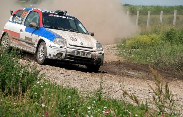 Salvatore Arcarese, singurul reprezentant al României în Clio Cup, a testat un Clio RS la Ciolpani - Poza 3