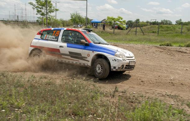Salvatore Arcarese, singurul reprezentant al României în Clio Cup, a testat un Clio RS la Ciolpani - Poza 6