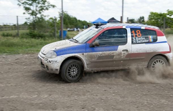 Salvatore Arcarese, singurul reprezentant al României în Clio Cup, a testat un Clio RS la Ciolpani - Poza 15