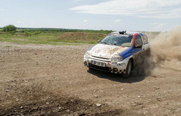 Salvatore Arcarese, singurul reprezentant al României în Clio Cup, a testat un Clio RS la Ciolpani - Poza 4
