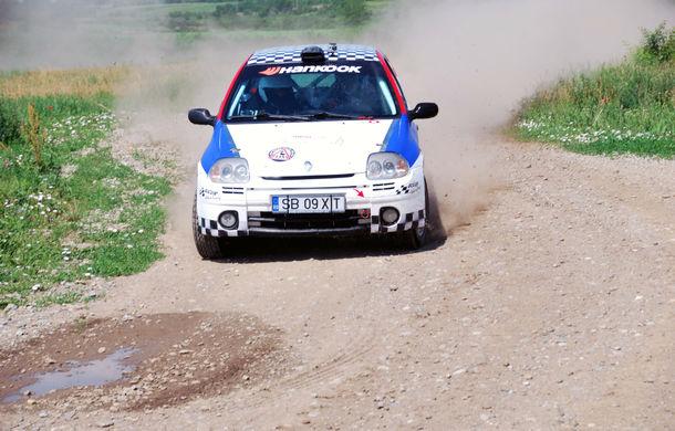Salvatore Arcarese, singurul reprezentant al României în Clio Cup, a testat un Clio RS la Ciolpani - Poza 12