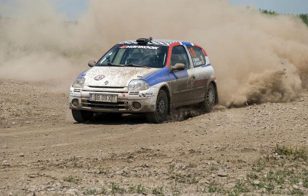 Salvatore Arcarese, singurul reprezentant al României în Clio Cup, a testat un Clio RS la Ciolpani - Poza 2