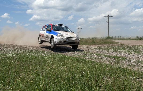 Salvatore Arcarese, singurul reprezentant al României în Clio Cup, a testat un Clio RS la Ciolpani - Poza 1