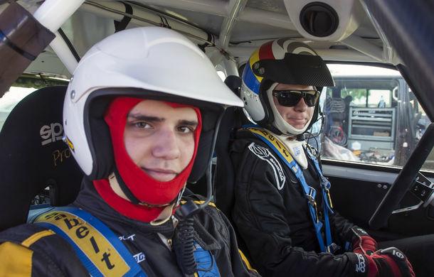 Salvatore Arcarese, singurul reprezentant al României în Clio Cup, a testat un Clio RS la Ciolpani - Poza 16