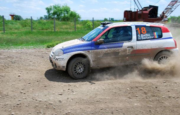 Salvatore Arcarese, singurul reprezentant al României în Clio Cup, a testat un Clio RS la Ciolpani - Poza 10