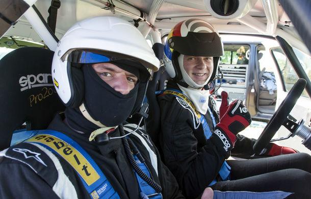 Salvatore Arcarese, singurul reprezentant al României în Clio Cup, a testat un Clio RS la Ciolpani - Poza 20