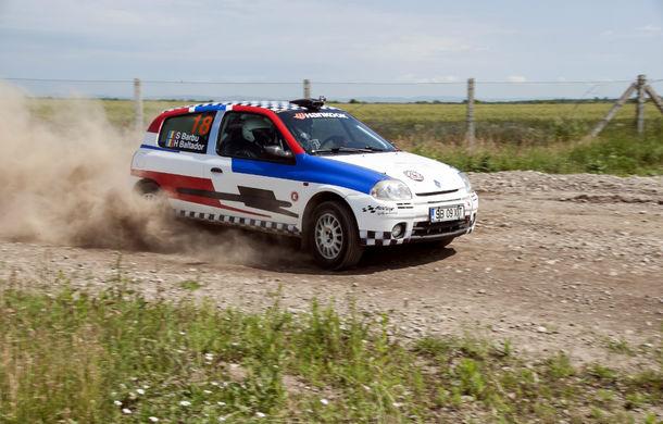 Salvatore Arcarese, singurul reprezentant al României în Clio Cup, a testat un Clio RS la Ciolpani - Poza 11