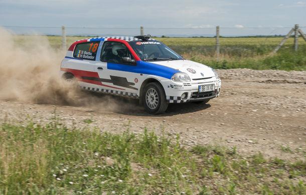 Salvatore Arcarese, singurul reprezentant al României în Clio Cup, a testat un Clio RS la Ciolpani - Poza 7
