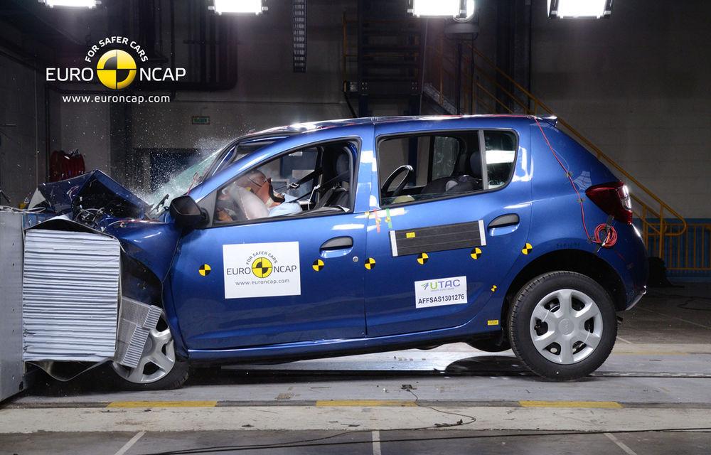 EuroNCAP: 4 stele pentru noul Dacia Sandero - Poza 1