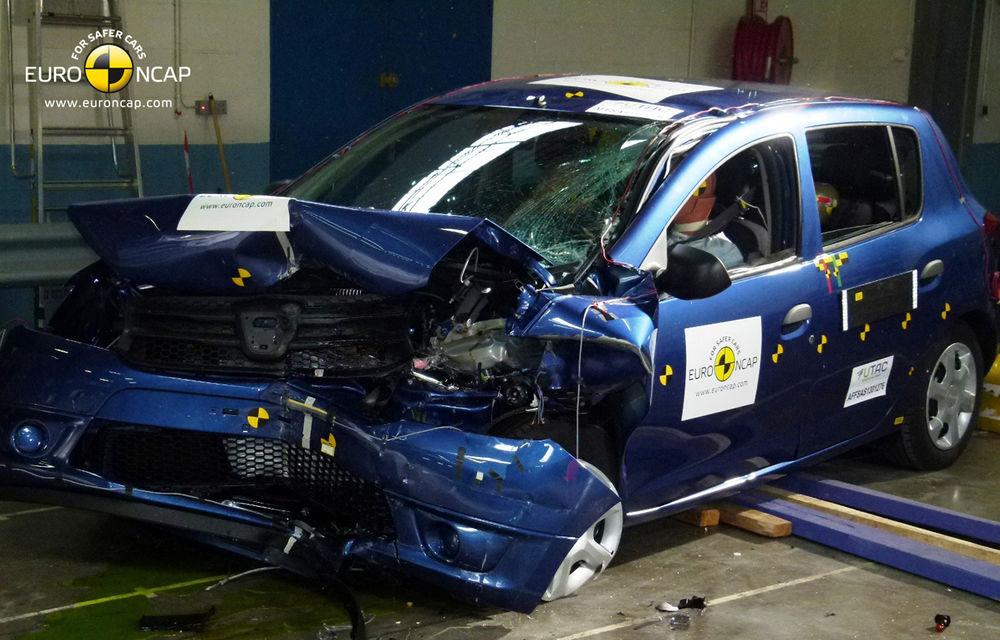EuroNCAP: 4 stele pentru noul Dacia Sandero - Poza 3