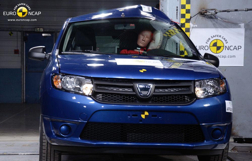 EuroNCAP: 4 stele pentru noul Dacia Sandero - Poza 2