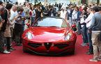 Alfa Romeo Disco Volante câştigă premiul de design la Concursul de Eleganţă de la Villa d'Este