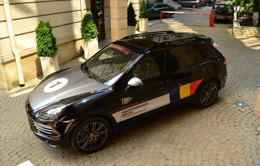 Porsche Performance Drive 2013: urmează 1.500 km în Europa de Est cu Porsche Cayenne S Diesel - Poza 1