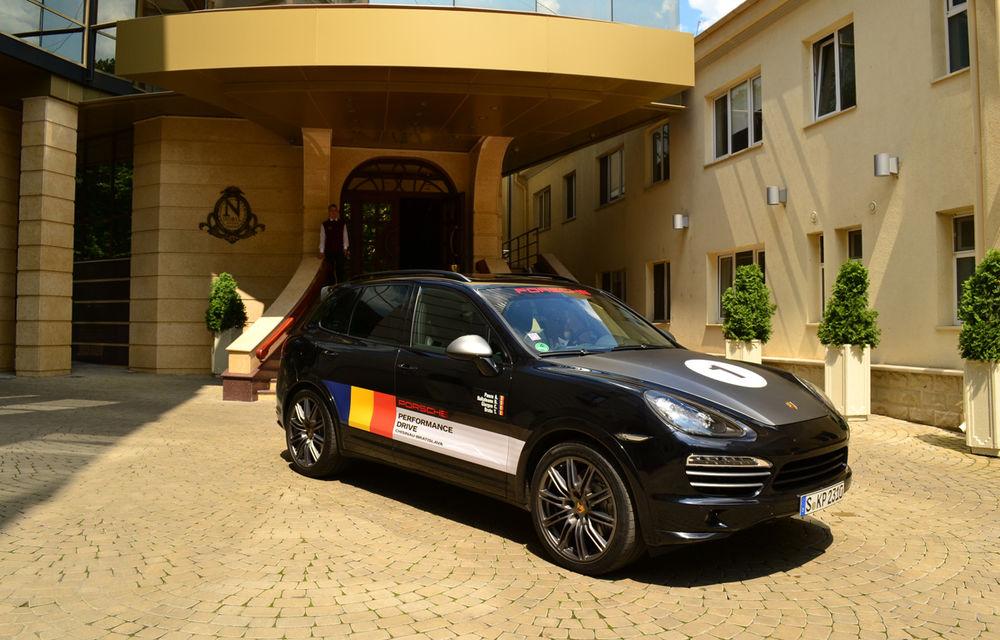 Porsche Performance Drive 2013: urmează 1.500 km în Europa de Est cu Porsche Cayenne S Diesel - Poza 2