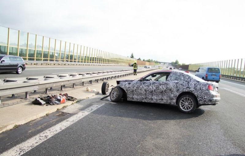 Un prototip al viitorului BMW Seria 2, distrus într-un accident în timpul testelor - Poza 1