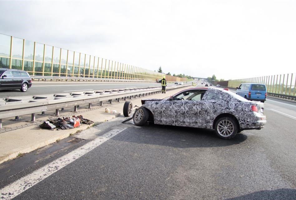 Un prototip al viitorului BMW Seria 2, distrus într-un accident în timpul testelor - Poza 10