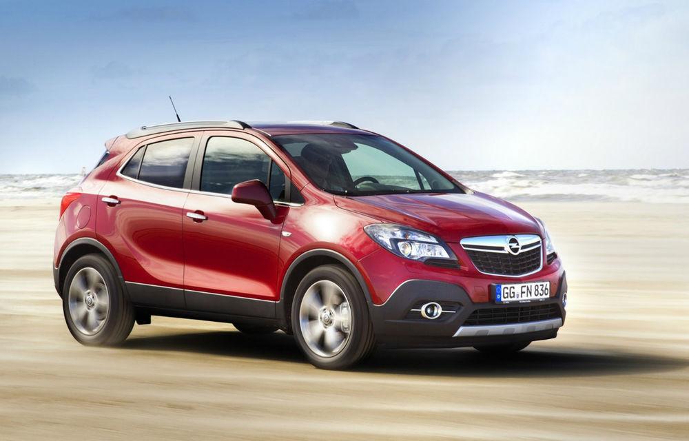 Opel ar putea muta producţia lui Mokka în Spania - Poza 1