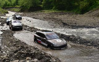 Porsche Performance Drive 2013: Ziua a doua - offroad cu Porsche Cayenne S Diesel
