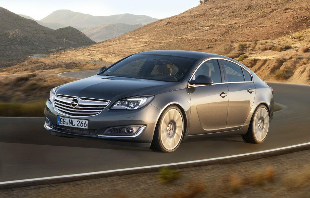 Opel Insignia facelift - imagini şi informaţii oficiale - Poza 1