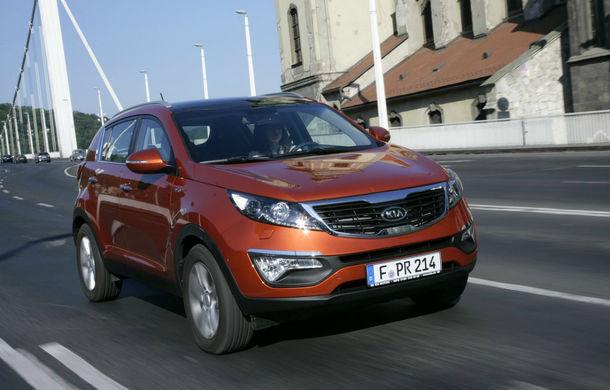 Kia recheamă în service 1000 de maşini vândute în România - Poza 1
