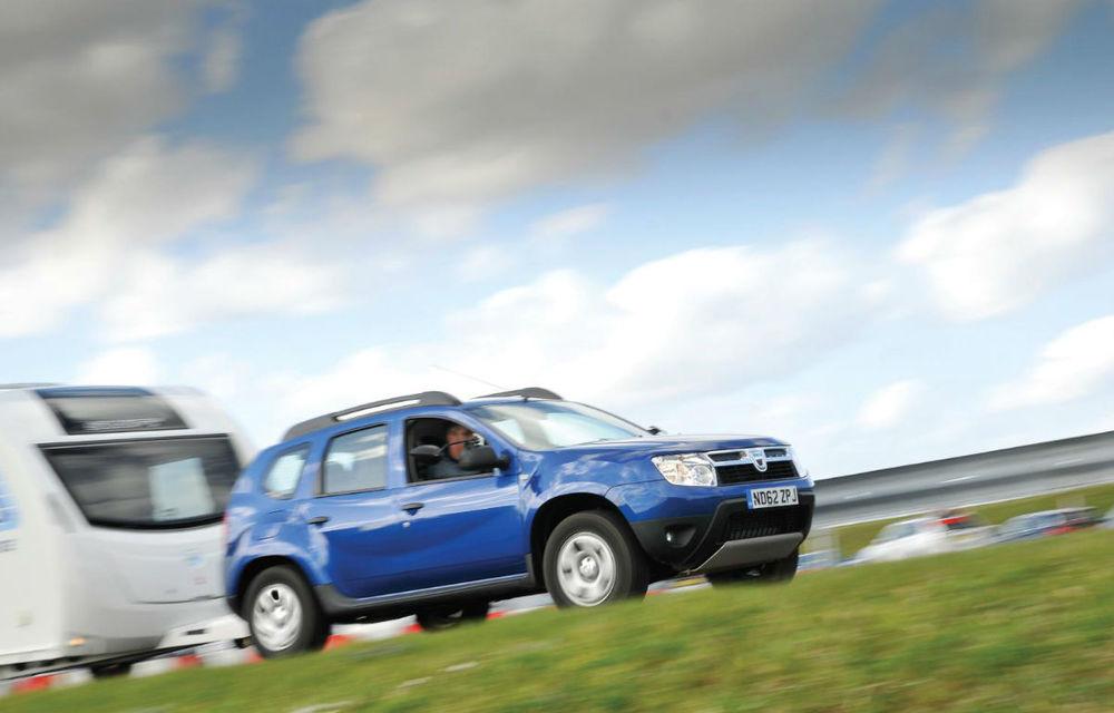 Dacia Duster, cel mai bun 4x4 de buget pentru remorcarea rulotelor în Anglia - Poza 1