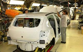 Previziuni: producţia auto din România o va depăşi pe cea din Italia în 2013