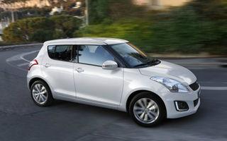 Suzuki Swift facelift, primele imagini ale versiunii restilizate