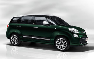 Fiat 500L Living, versiunea cu şapte locuri a monovolumului italian