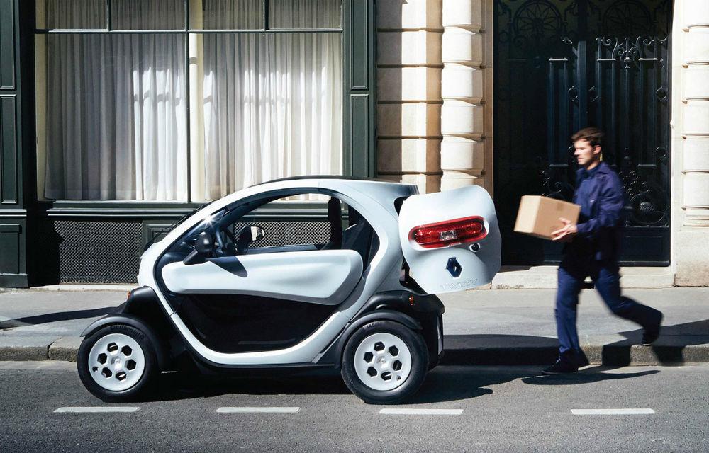 Renault Twizy Cargo, versiunea comercială a celui mai mic model al francezilor - Poza 1