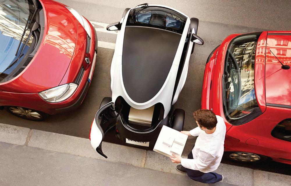 Renault Twizy Cargo, versiunea comercială a celui mai mic model al francezilor - Poza 3