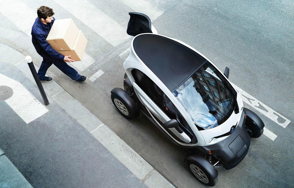 Renault Twizy Cargo, versiunea comercială a celui mai mic model al francezilor - Poza 2