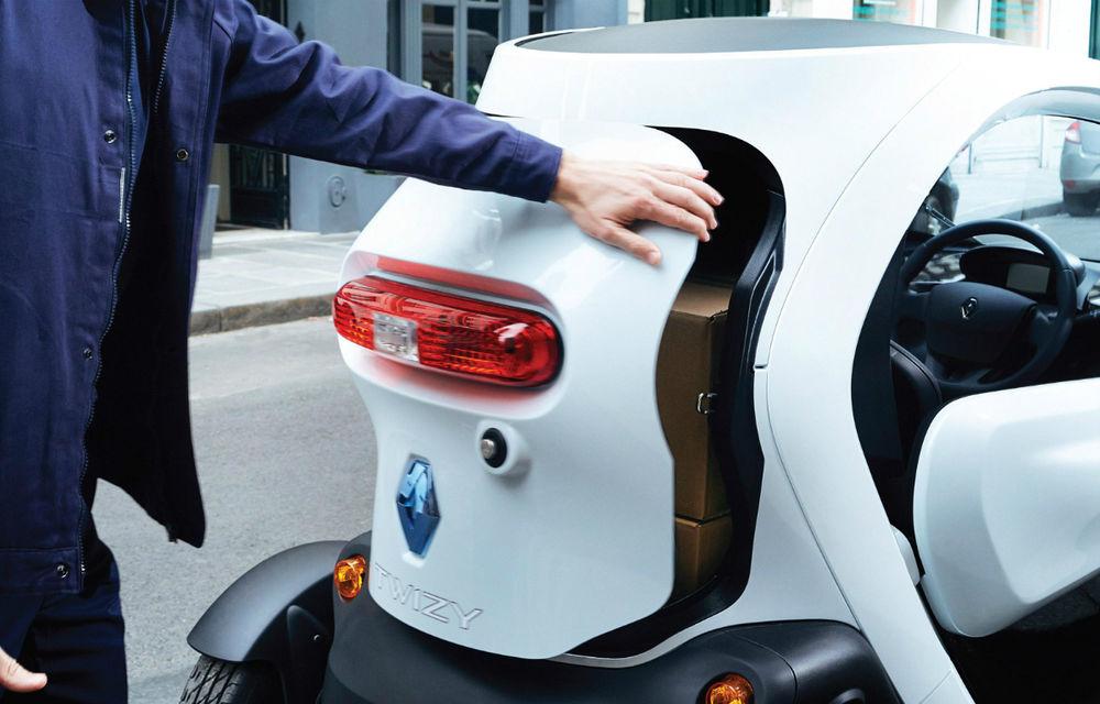 Renault Twizy Cargo, versiunea comercială a celui mai mic model al francezilor - Poza 5