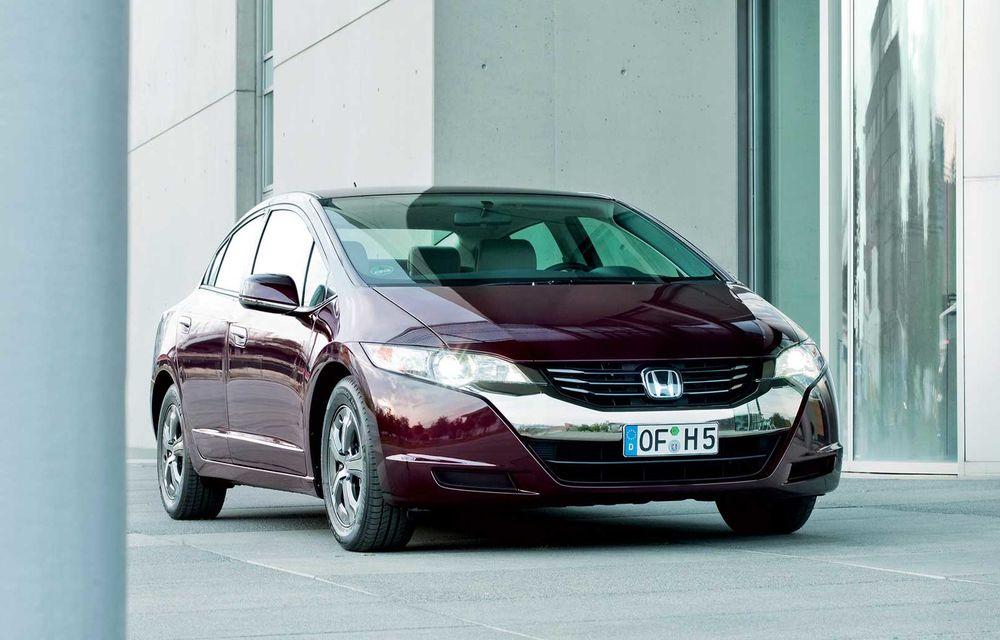 Honda şi General Motors vor dezvolta împreună vehicule alimentate cu hidrogen - Poza 1