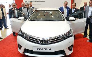 Primul Corolla sedan de generaţie nouă a fost produs la fabrica Toyota din Turcia