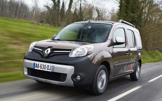 Preţuri Renault Kangoo facelift în România: start de la 15.810 euro
