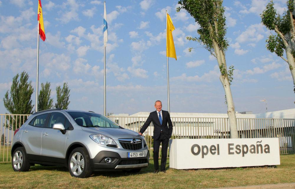 Opel Mokka va fi produs şi în Spania începând cu jumătatea lui 2014 - Poza 1