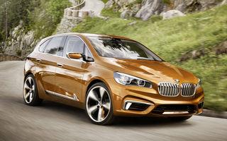 BMW Active Tourer Outdoor Concept anunţă un viitor monovolum de aventură cu tracţiune faţă