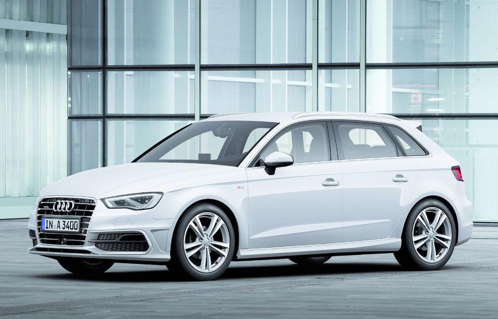 Audi lucrează la un monovolum bazat pe A3, rival pentru viitorul BMW Seria 1 GT - Poza 1