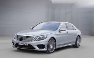 Mercedes-Benz S63 AMG - imagini şi detalii oficiale cu cel mai puternic S-Klasse