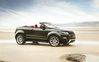 Range Rover Evoque Cabrio va intra în producţia de serie în 2014