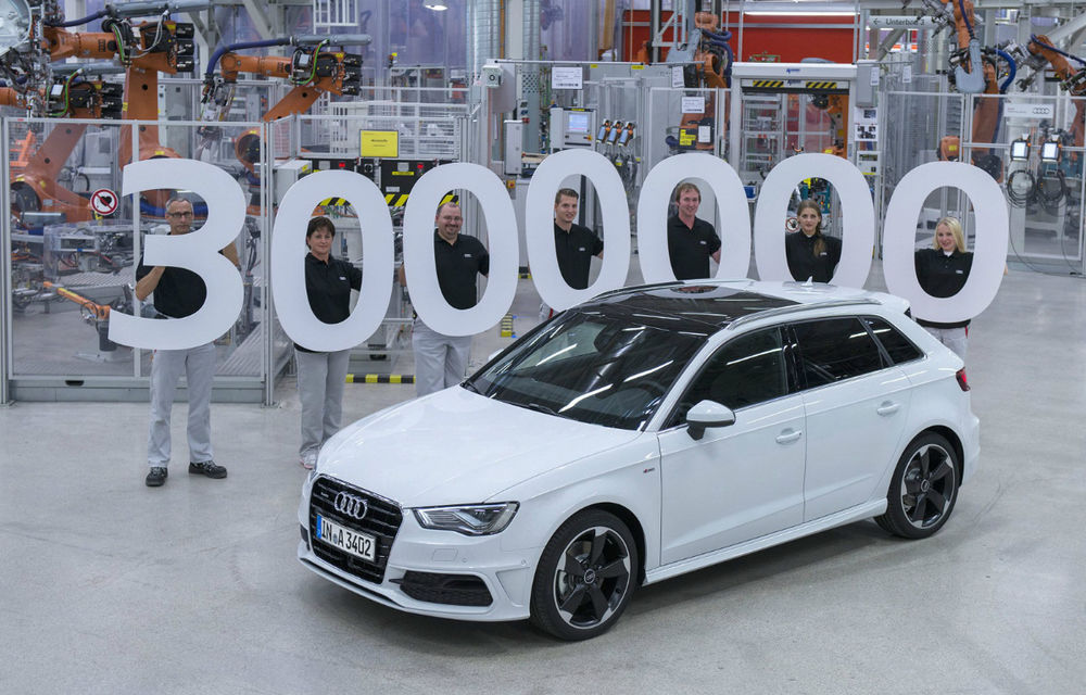 Audi A3: Trei milioane de unităţi produse în 17 ani - Poza 1
