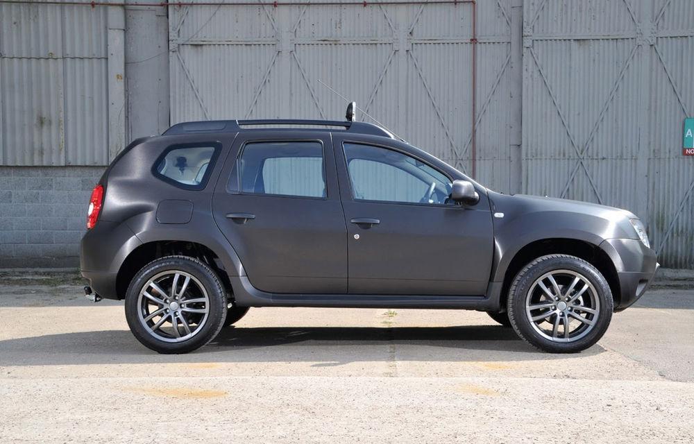Dacia Duster Black Edition: versiune specială pentru piața din Marea Britanie - Poza 4