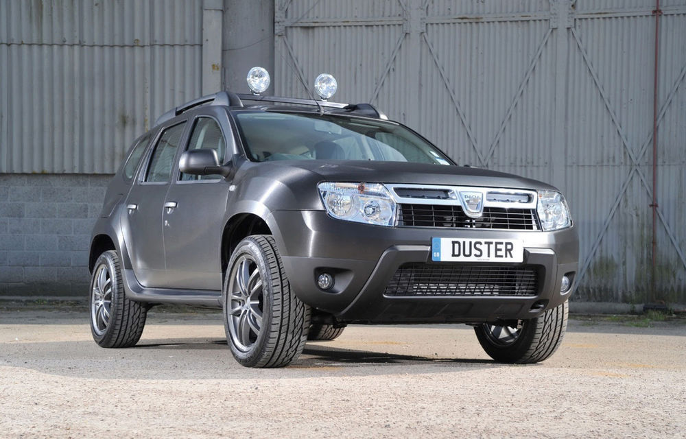 Dacia Duster Black Edition: versiune specială pentru piața din Marea Britanie - Poza 1
