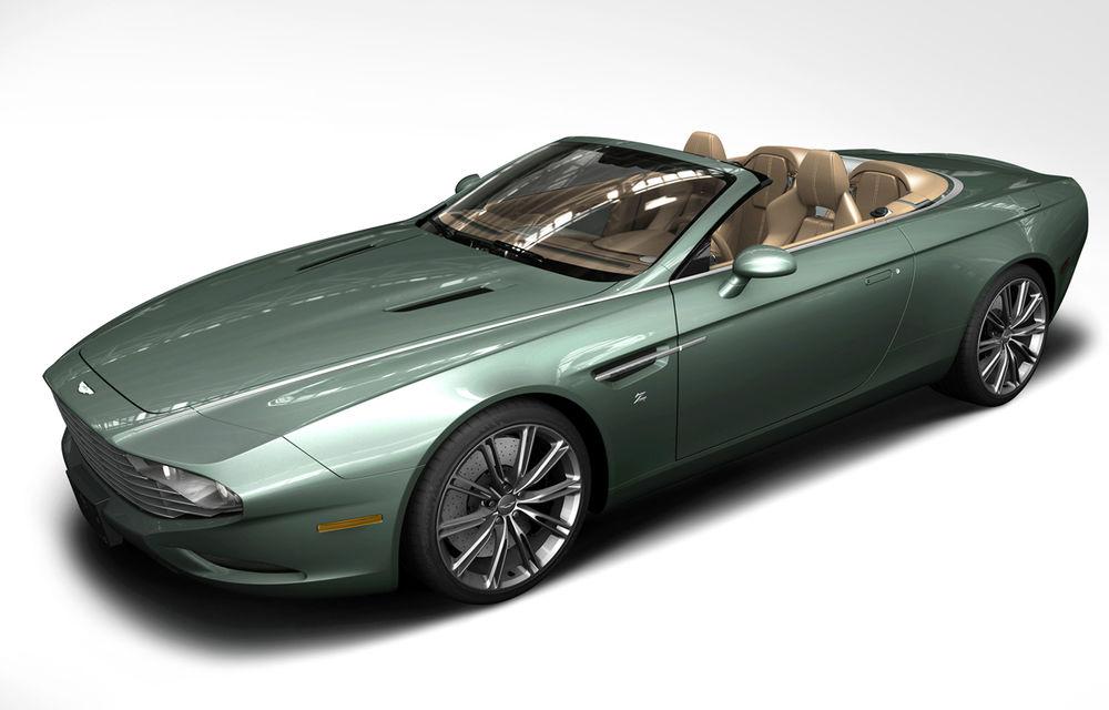 Aston Martin DBS Coupe şi DB9 Spyder Zagato, două exponate de excepţie - Poza 5
