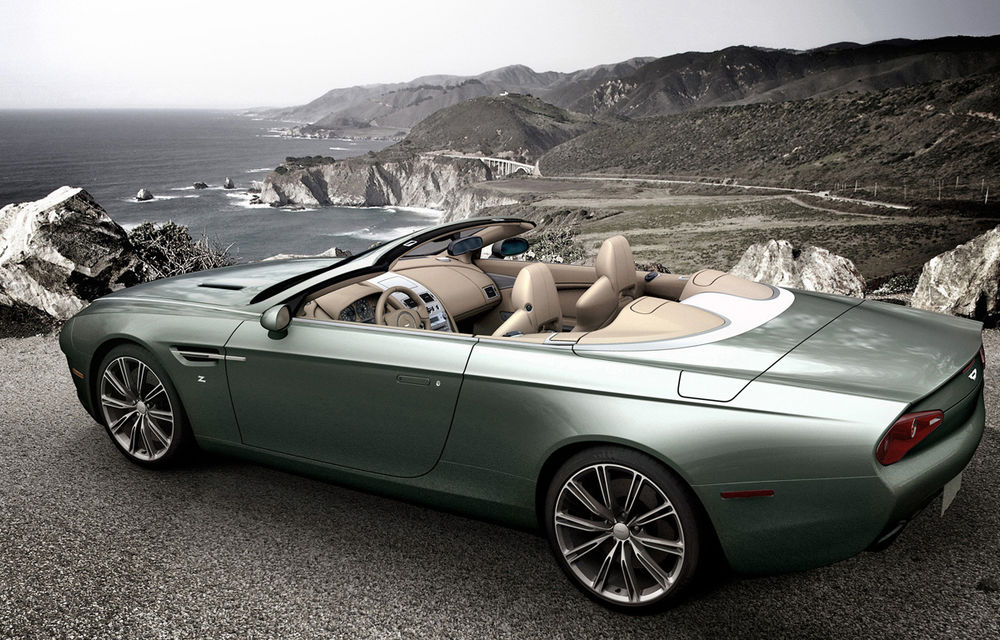 Aston Martin DBS Coupe şi DB9 Spyder Zagato, două exponate de excepţie - Poza 7