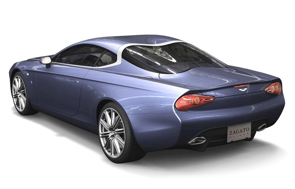 Aston Martin DBS Coupe şi DB9 Spyder Zagato, două exponate de excepţie - Poza 3
