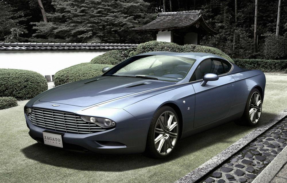 Aston Martin DBS Coupe şi DB9 Spyder Zagato, două exponate de excepţie - Poza 1