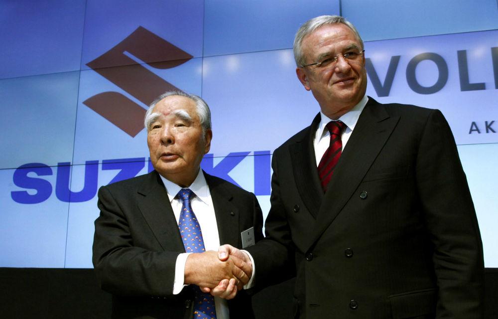 Suzuki neagă discuţiile privind reluarea colaborării cu Volkswagen - Poza 1