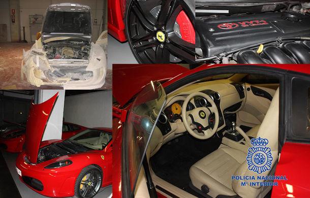 Poliţia spaniolă a arestat membrii unei reţele care falsifica maşini Ferrari şi Aston Martin - Poza 2