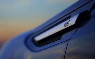 Subaru BRZ STI, anunţat de un teaser oficial